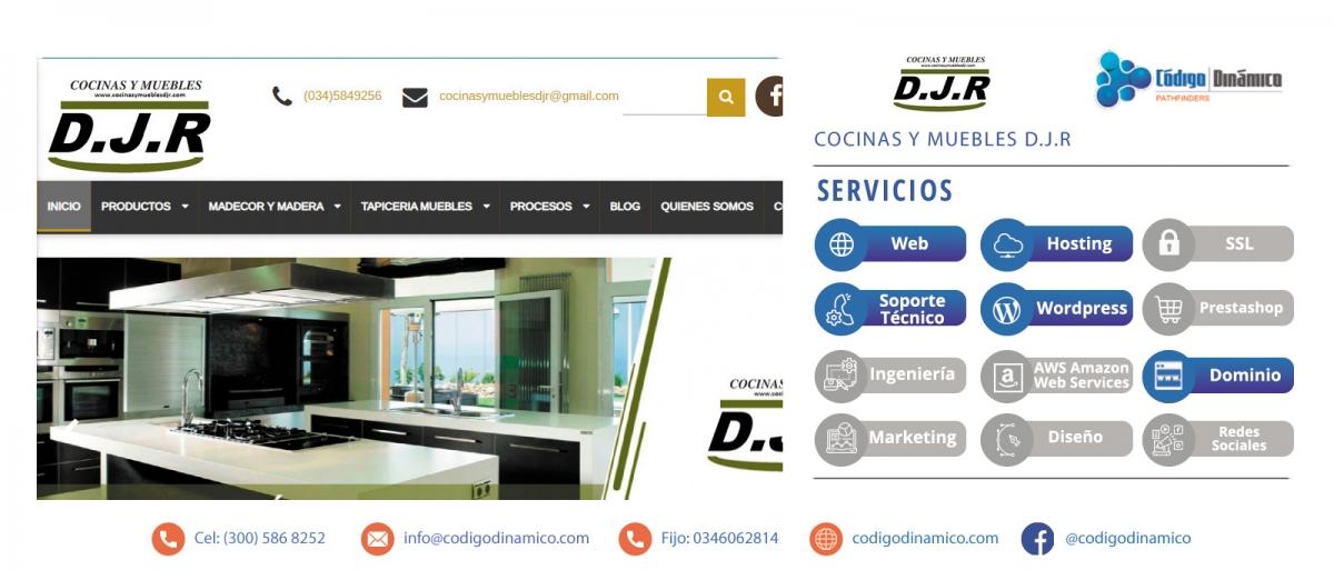 Cocinas y Muebles D.J.R es una empresa dedicada al Diseño